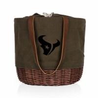 Houston Texans - Coronado Canvas and Willow Basket Tote