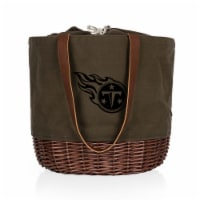 Tennessee Titans - Coronado Canvas and Willow Basket Tote