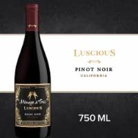 Menage a Trois Luscious Pinot Noir