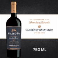 Menage a Trois Bourbon Barrel Cabernet Sauvignon