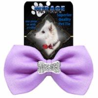 Crystal Bone Widget Pet Bowtie Hot Pink - 1