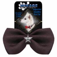 Silver Star Widget Pet Bowtie Blue - 1