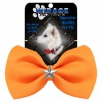 Silver Star Widget Pet Bowtie Navy Blue - 1