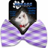 Mirage Pet 1156-BT Purple Plaid Pet Bow Tie