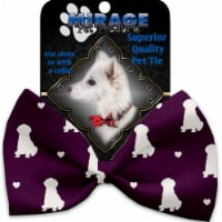 Mirage Pet 1192-BT Puppy Love Pet Bow Tie, Purple
