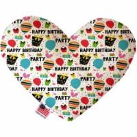 Birthday Buddies 6 inch Heart Dog Toy - 1