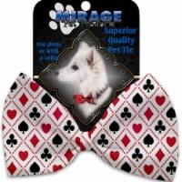 Mirage Pet 1234-BT Deck of Cards Pet Bow Tie