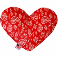Mirage Pet 1257-TYHT6 Red Western 6 in. Heart Dog Toy