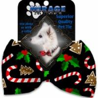 Mirage Pet 1272-BT Candy Cane Chaos Pet Bow Tie