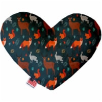 Mirage Pet 1324-TYHT6 Fall Friends 6 in. Heart Dog Toy - 1