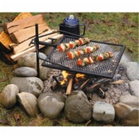 Adjust-A-Grill 148290 Solid Heavy-Gauge Steel Grill