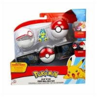 Wicked Cool Toys Pokemon Clip N Go Munchlax Poke Ball Belt Set - 1 Unit