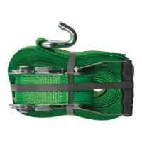 Keeper 8867806 30 ft. Tie Down Strap - Green - 1
