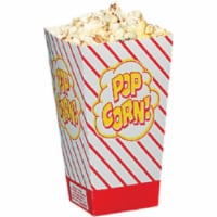 Gold Medal 2066 0.8 oz. Small Popcorn Scoop Box, 500 Count - 500