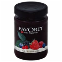 Favorit Forest Berry Swiss Preserves