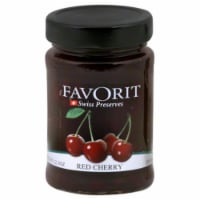 Favorit Red Cherry Swiss Preserves - 12.3 OZ
