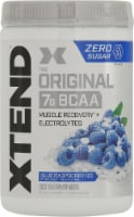 Xtend The Original BCAA Blue Raspberry Ice Muscle Recovery + Electrolytes Dietary Supplement - 14.8 oz