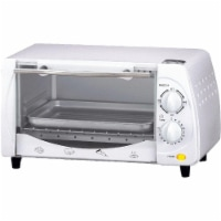 Brentwood TS-345W 9-Liter Toaster Oven and Broiler - White