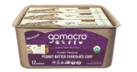 GoMacro MacroBar Peanut Butter Chocolate Chip Bars