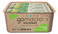 GoMacro MacroBar Wholehearted Heaven Almond Butter & Carob Bars