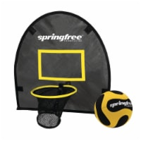 Springfree Trampoline Outdoor Jumping Basketball Game FlexrHoop Accessory, Black - 1 Piece