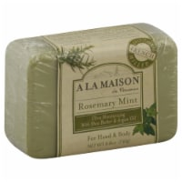 A La Maison Rosemary Mint Bar Soap