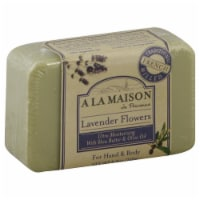 A La Maison Lavender Flowers Bar Soap