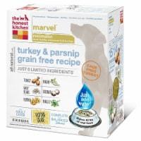 PF 50500493 10 lbs Honest Kitchen Marvel Limited grain Free Turkey Dog Food Box
