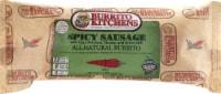Burrito Kitchens Spicy Sausage & Egg Burrito - 8 oz