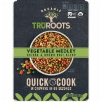 truRoots Organic Vegetable Medley Quinoa & Brown Rice Blend Quick Cook Meal