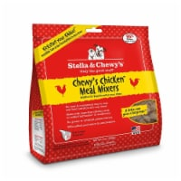 PF 84000037 9 oz Stella & Chewys Freeze Dried Chewys Chicken Meal Mixers for Dogs - 6 per Cas - 1