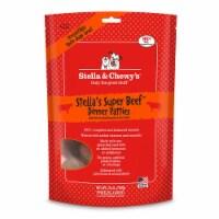 PF 84000045 25 oz Stella & Chewys Freeze Dried Beef Dinner Patties - 4 per Case - 1