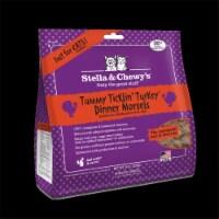 PF 84001202 9 oz Stella & Chewys Freeze Dried Dinner Morsels for Cats Tummy Ticklin Turkey - - 1