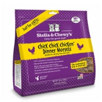 PF 84000123 18 oz Stella & Chewys Freeze Dried Dinner Morsels for Cats Chick Chick Chicken -
