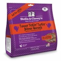 PF 84001264 18 oz Stella & Chewys Freeze-Dried Tummy Ticklin Turkey Cat - 4 per Case - 1