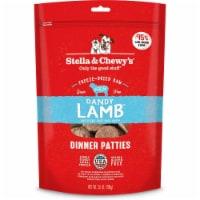 Stella & Chewys 860267 25 oz Dandy Lamb Dinner Patties Grain-Free Freeze-Dried Dog Food - 1