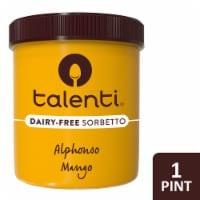 Talenti Vegan Non-Dairy Alphonso Mango Sorbetto Ice Cream