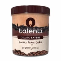 Talenti Vanilla Fudge Cookie Gelato Layers
