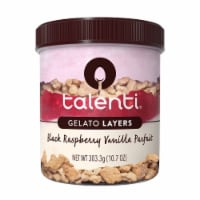 Talenti Gelato Layers Black Raspberry Vanilla Parfait Ice Cream