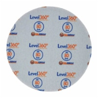 Full Circle  Level 360  8.75 in. Aluminum Oxide  Hook and Loop  Sanding Disc  80 Grit Medium - Count of: 1