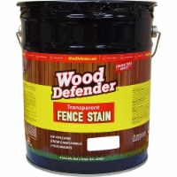 Wood Defender Transparent Fence Stain CLEAR GLOW 5-gallon - 5 gallon each
