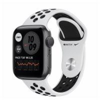 Apple MG293LL Nike Series 6 Watch (GPS) - Silver - 44mm - 1