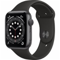 Apple M00H3LL Series 6 Watch (GPS) - Space Gray - 44 mm