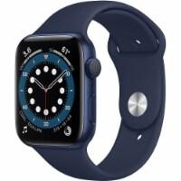 Apple Series 6 Watch - Blue - 1 ct