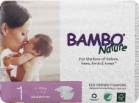 Bambo Nature Baby Diapers Stage 1 - 4 to 11 lbs