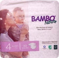 Bambo Nature Baby Diapers Stage 4 - 15 to 40 lbs