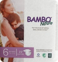 Bambo Nature Baby Diapers Stage 6 - 33 to 66 lbs