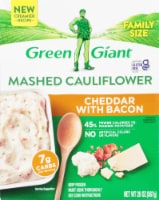 Green Giant Cheddar & Bacon Mashed Cauliflower