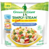 Green Giant Simply Steam Dash Garlic Herb Vegetable Medley