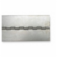 Sim Supply Continuous Hinge,Natural,8 ft. L,3 In. W  1JER7 - 1